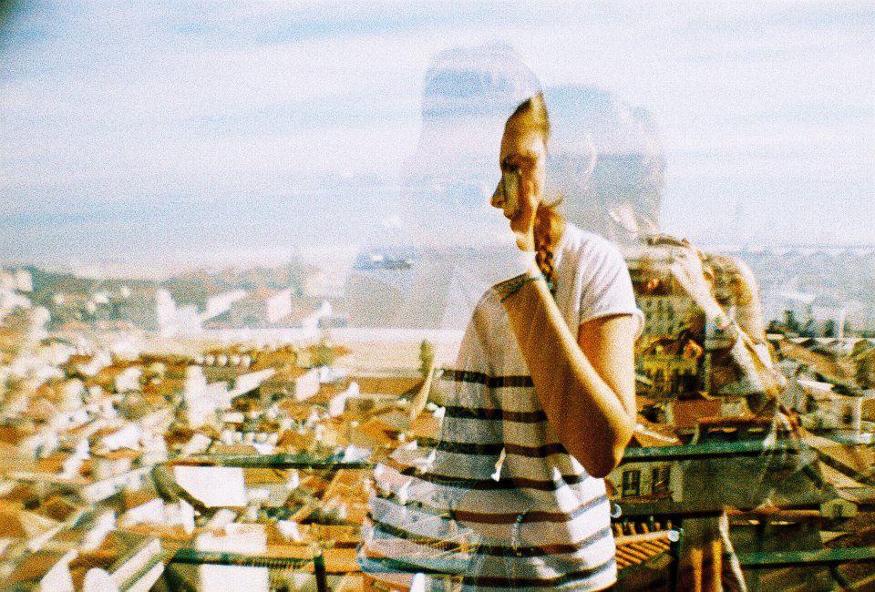 (double exposure - Alfama, Lisboa)
